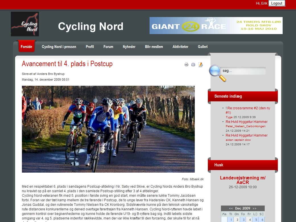 Cycling Nord